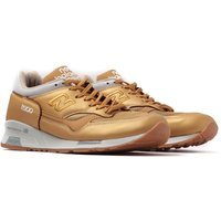 New Balance Made in England M1500 Gold Leather Trainers