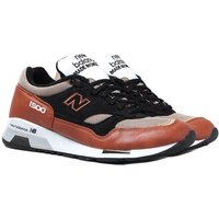 New Balance Made in England M1500 Tan & Black Leather Trainers