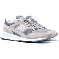 New Balance 1530 Stone Grey With White Suede Trainers