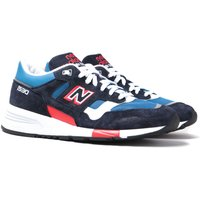 New Balance 1530 Made in England Navy, Blue & Red Suede Trainers