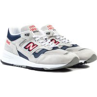 New Balance 1530 Made in England Grey & Navy Suede Trainers