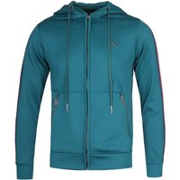 True-Religion-Contrast-Taped-Teal-Hoodie