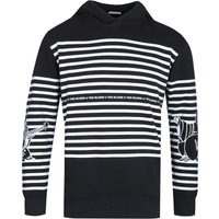 True Religion Buddha Stripe Black Pullover Hoodie