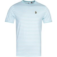 Luke 1977 Zucci All Over Pure Sky Stripe T-Shirt