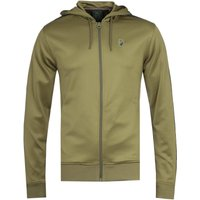 Luke 1977 Trico Khaki Zip-Through Hoodie