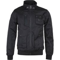Luke 1977 Funnel Neck Black Technical Jacket