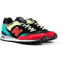 New-Balance-Made-In-England-M577-Multi-Colour-and-Black-Suede-Trainers