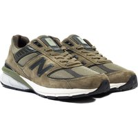 New-Balance-M990-Made-In-The-USA-Khaki-Suede-Trainers
