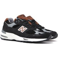 New Balance M991 Made in England Brown & Grey Suede Trainers