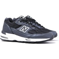New Balance M991 Made in England Navy & Black Leather Trainers