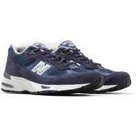 New Balance M991 Made In England Navy Leather Trainers