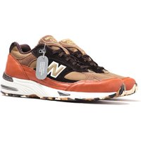 New-Balance-M991-Made-In-England-Green-and-Brown-Leather-Trainers