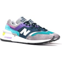 New Balance M997 Made In USA Grey & Multicolour Detail Suede Trainers