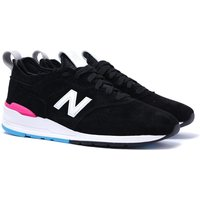 New Balance 997 Made in USA Black & White Contrast Trainers