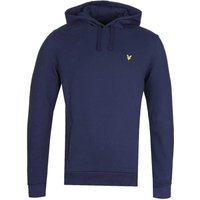 Lyle-and-Scott-Panelled-Navy-Pullover-Hoodie