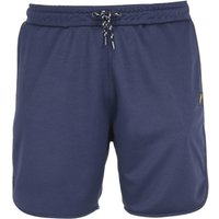 Lyle & Scott Navy Football Shorts