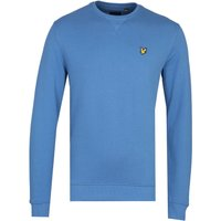 Lyle & Scott Lapis Blue Crew Neck Sweatshirt