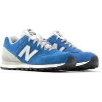 New Balance 574 Suede Trainers - Blue