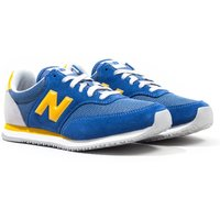 New Balance MLC100 Atlantic Blue with Varsity Gold Trainers