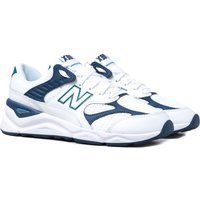 New Balance X-90 Navy White With Navy Detail Mesh Trainers