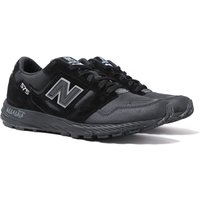 New-Balance-Trail-575-Made-In-England-Black-Suede-and-Mesh-Trainers