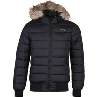Schott North 19 Black Padded Jacket