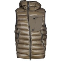 CP Company Down Padded Khaki Green Goggle Gilet