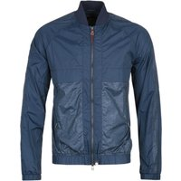 Pretty Green Navy Reflective Bomber Jacket