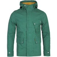 Pretty Green Contrast Lining Green Hooded Jacket