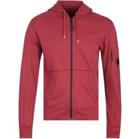 CP Company Zip-Through Red Lens Hoodie