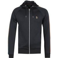 Luke 1977 Dalgliesh Black Zip-through Hoodie