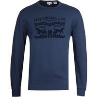 Levi's Graphic Crew Neck Navy Sweatshirt