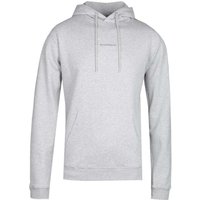 NN07 Barrow 3385 No Nationality Print Grey Marl Hoodie