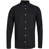 NN07 Levon 5142 Button Down Black Long Sleeve Shirt
