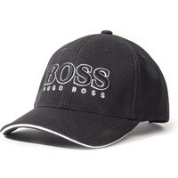 BOSS Textured Black Baseball Cap