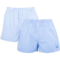 BOSS Bodywear 2 Pack Sustainable Cotton Sky Blue Boxers