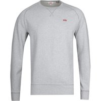 Levi's Original Icon Crew Neck Grey Marl Sweatshirt