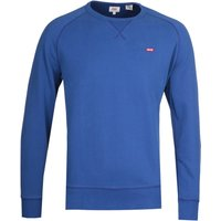 Levi's Original Icon Crew Neck Marine Blue Sweatshirt