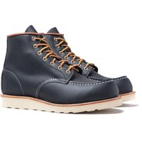 "Red Wing 8859 Classic 6"" Moc Navy Leather Boots"