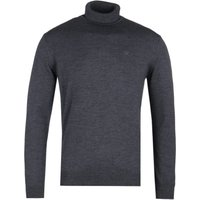 Emporio Armani Charcoal Grey Turtle Neck Sweater