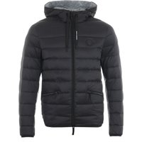 Armani Exchange Puffer Down Hooded Jacket - Black