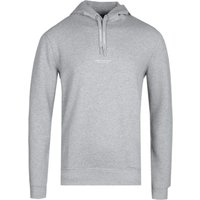 Armani Exchange Grey Marl Milan NYC Hoodie
