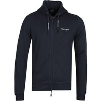 Armani Exchange Dark Navy Zip-Through Hoodie