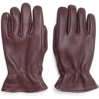 Red Wing Lined Dark Brown Leather Gloves