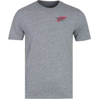 Red Wing Basic Logo Grey Marl T-Shirt