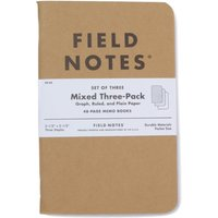 Field Notes Original 3 Mixed Notebooks