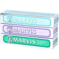 Marvis Toothpaste Set Jasmin Mint, Classic Strong Mint & Anise Mint