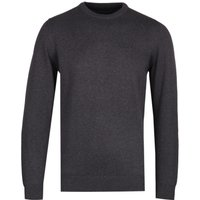 Barbour Pima Cotton Charcoal Grey Knit Sweater