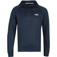 Barbour International Small Logo Dark Navy Hoodie