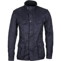 Barbour International Navy Ariel Polarquilt Jacket